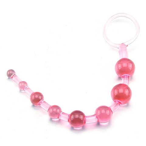 Slim Beginners Anal Beads