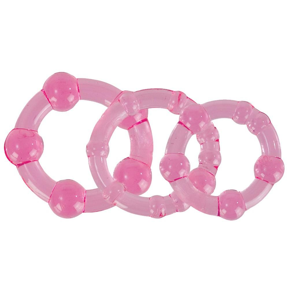 Silicone Island Cock Ring Set by  California Exotics -  - 1