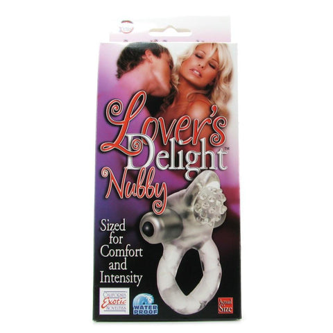 Lover's Delight Nubby Vibrating Cock Ring