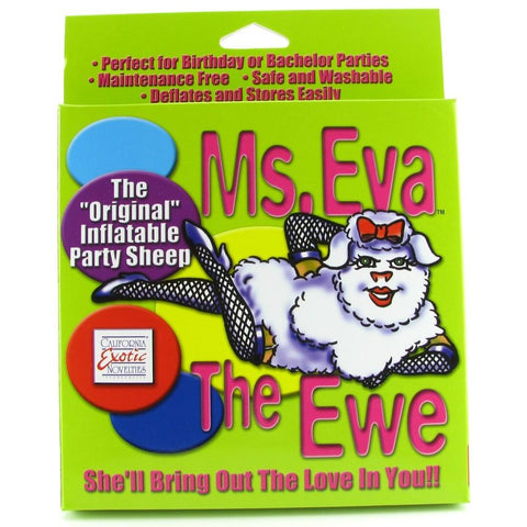 Ms. Eva The Ewe Inflatable Party Sheep