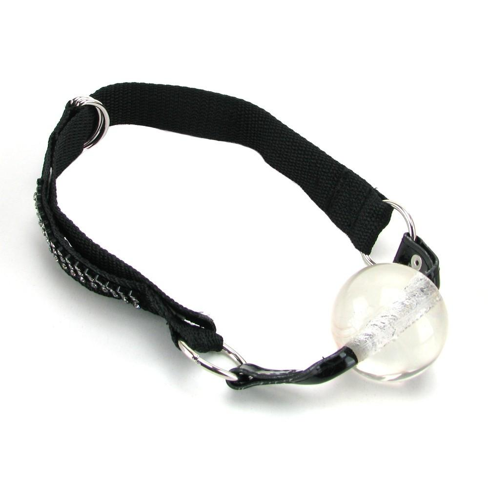 Bound By Diamonds Ball Gag by  California Exotics -  - 1