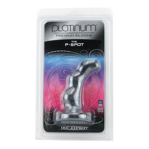 Doc Johnson Platinum Silicone  P-Spot Massager