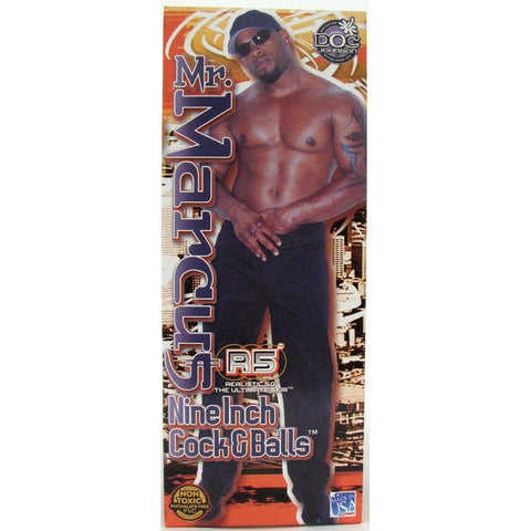 Doc Johnson Mr. Marcus Lifelike Suction Cup Dildo