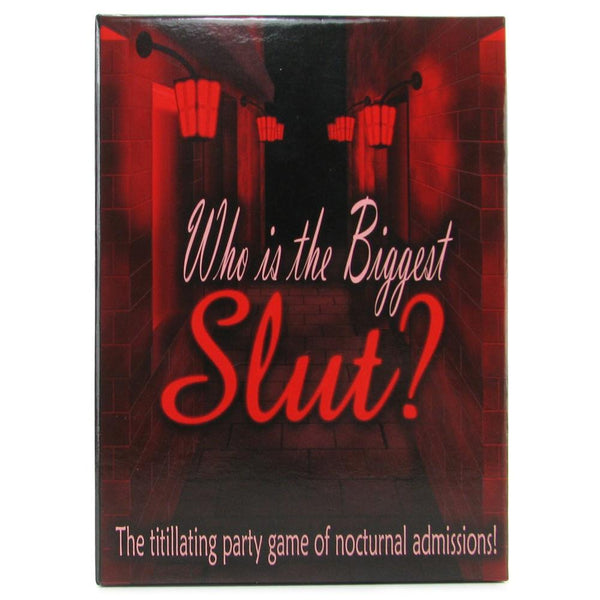 Who is The Biggest Slut? Game