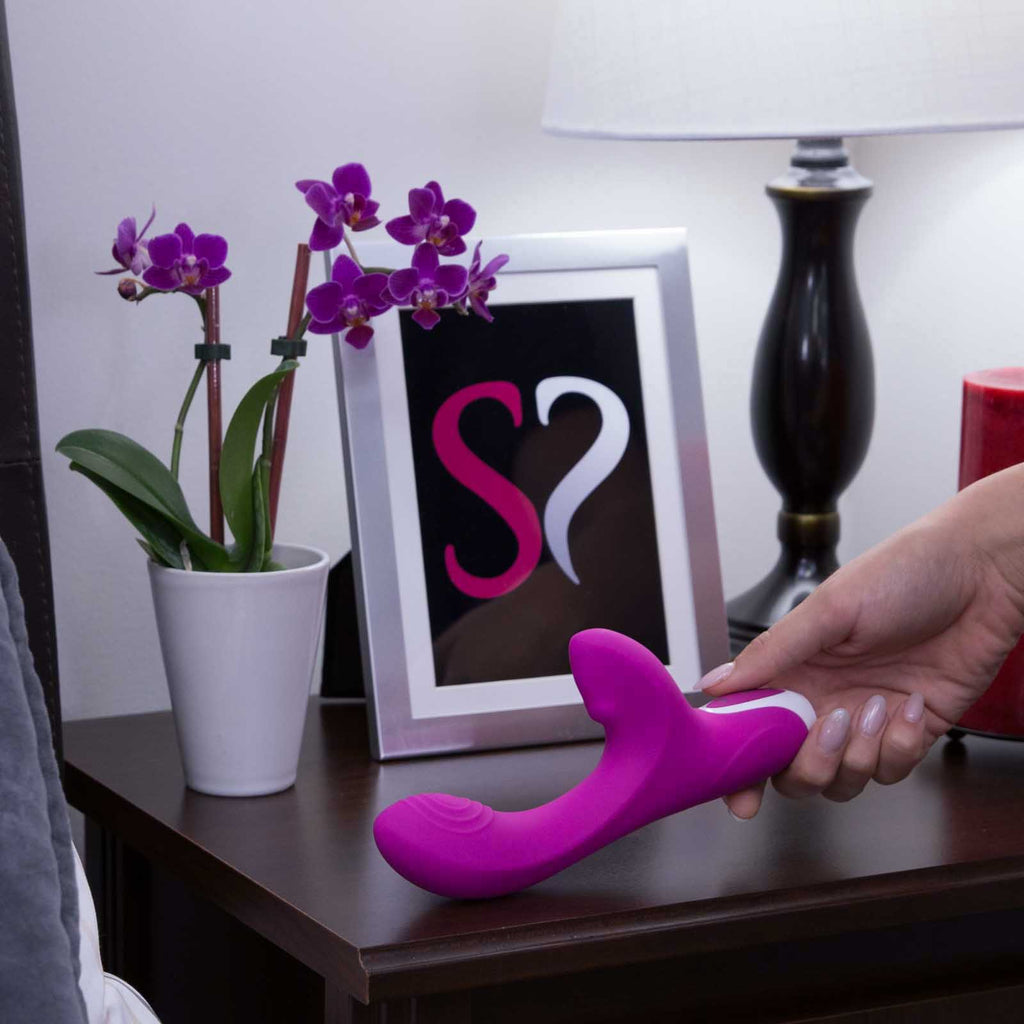 Evolved Novelties Love Button 10 Function USB Rechargeable Clitoral & G-Spot Vibrator