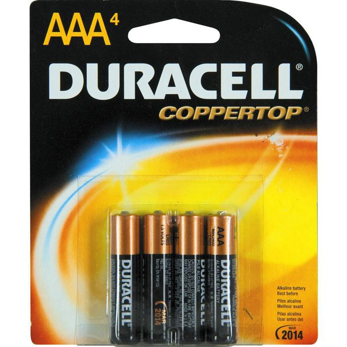 Duracell AAA Batteries 4 Pack by  Simpli -