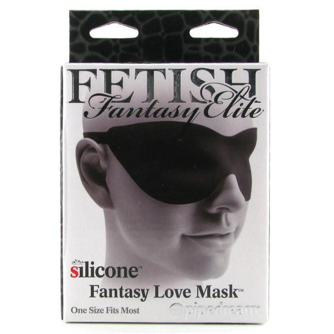 Fetish Fantasy Elite Silicone Love Mask in Pink