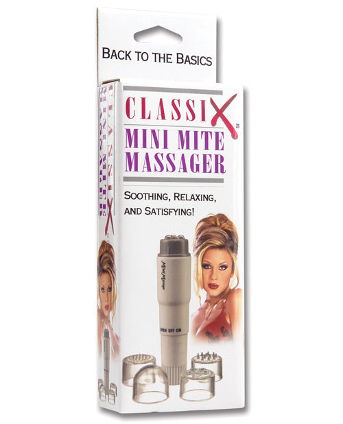 Classix Mini Mite Massager w/4 Heads