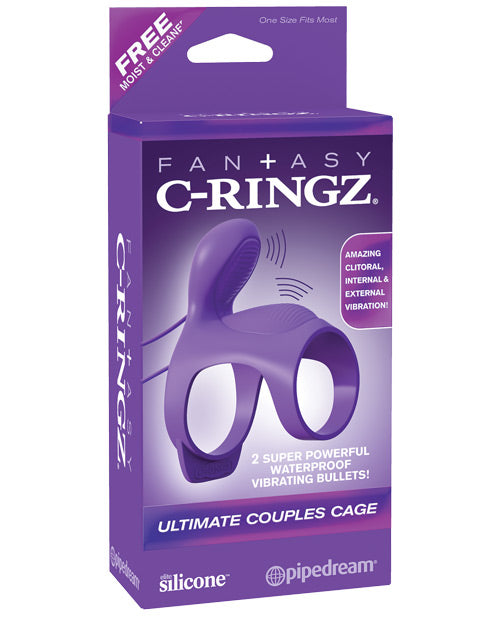 Fantasy C Ringz Ultimate Couples Cage