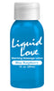 Liquid Love Warming Massage Lotion Blue Raspberry