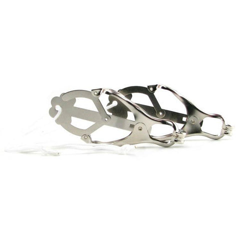 Japenese Clover Nipple Clamps - For Extreme Users Only!