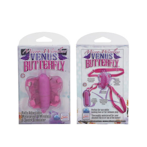Micro Wireless Venus Butterfly Wearable Vibe in Pink