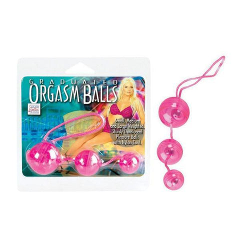 Graduated Dual Purpose Orgasm Balls