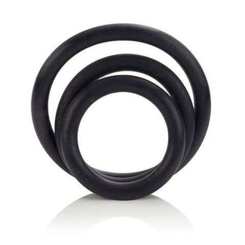 Rubber Cock Rings 3 Piece Set