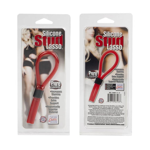 Silicone Stud Lasso in Red
