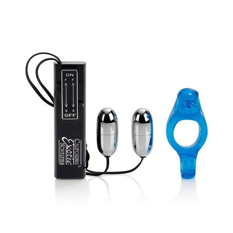 Diving Dolphin Vibrating Cock Ring - Great for Couples!