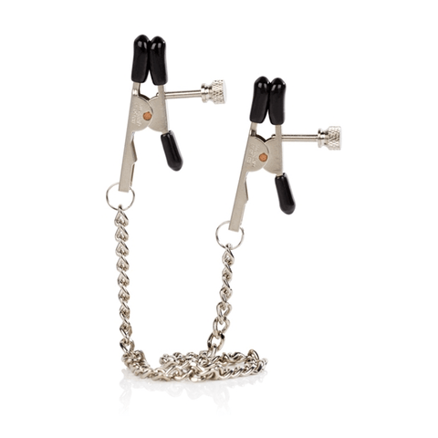 Non-Piercing Bullnose Nipple Clamps and Chain