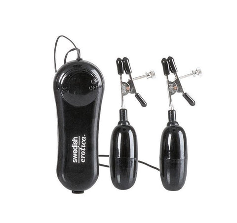 California Exotics Vibrating Nipple Clamps