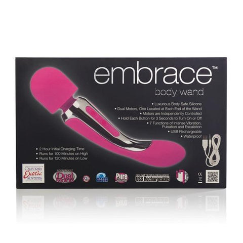Embrace Silicone Body Wand Massager Vibe