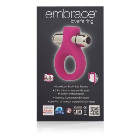 Embrace Lover's Silicone Vibrating Cock Ring