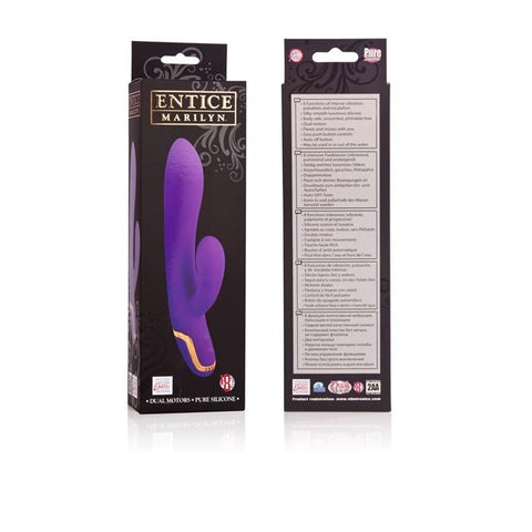 Entice Marilyn Silicone Rabbit Vibe