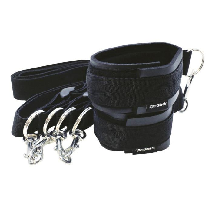 Sportsheets Sports Cuffs & Tethers Kit