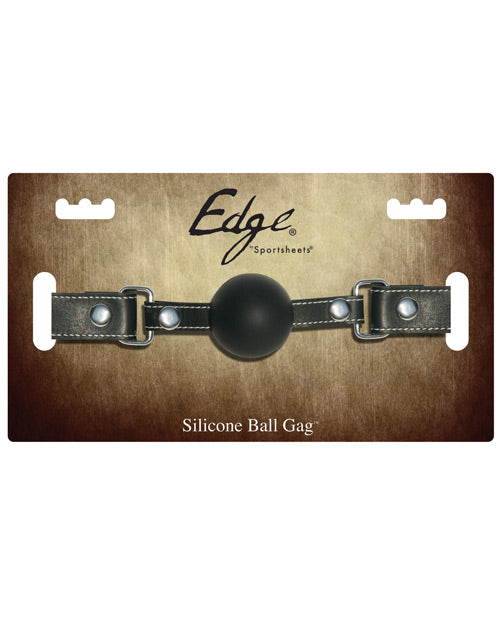 Edge Silicone Ball Gag Removable Ball Lockable buckle Bondage Gear
