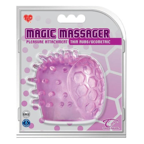 Magic Massager Small Nubs Smooth Attachment