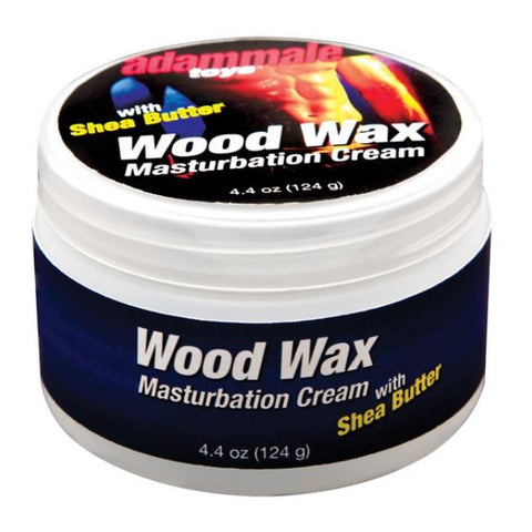Wood Wax Masturbation Cream with Shea Butter in 4.4oz/124g
