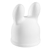 Full Size Classic Rabbit Ear Pleasure Wand Attachment Premium Silicone