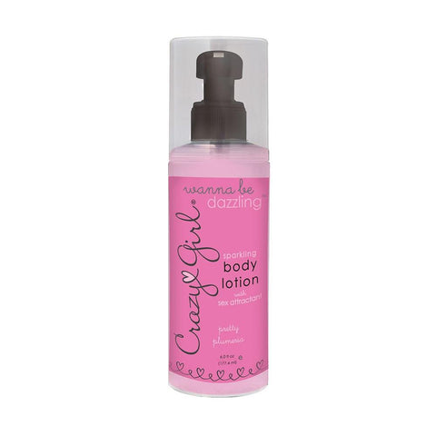 Crazy Girl Sparkling Body Lotion 6oz/117mL in Cupcake