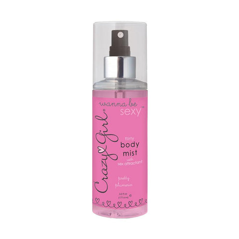 Crazy Girl Flirty Body Mist 6oz/117mL in Cupcake