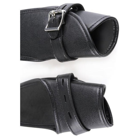 Fetish Fantasy Deluxe Leather Door Cuffs