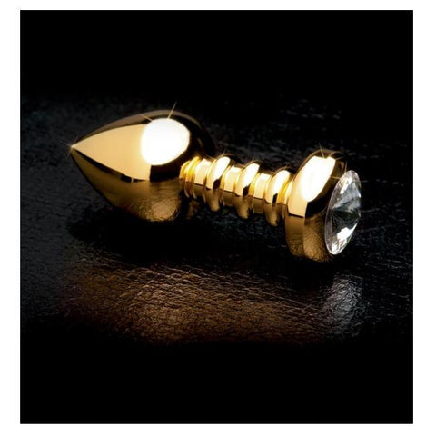 Gold 'Luv Plug' Heavy Anal Toy