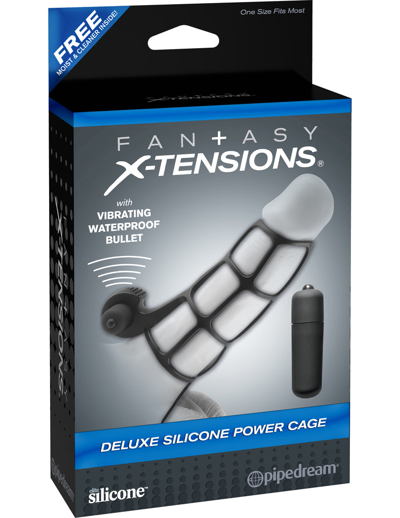 Deluxe Silicone Power Cage