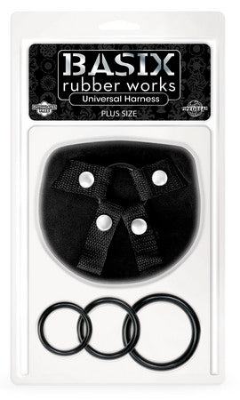 Basix Rubber Works Universal Harness Plus-Size