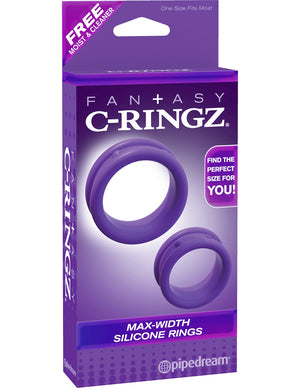 Max-Width Silicone Rings by Fantasy C-Ringz