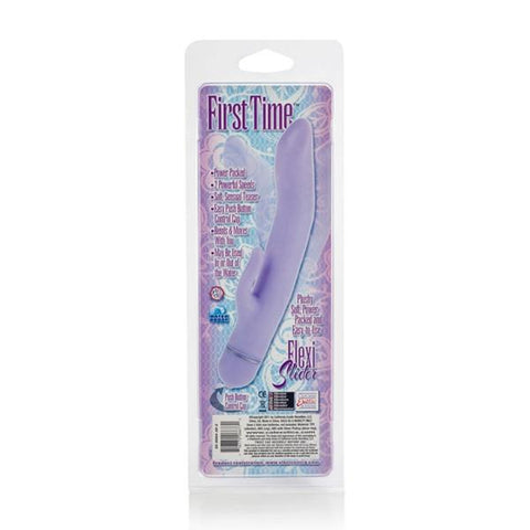 First Time Flexi Slider Multi-Speed Waterproof Rabbit Vibrator