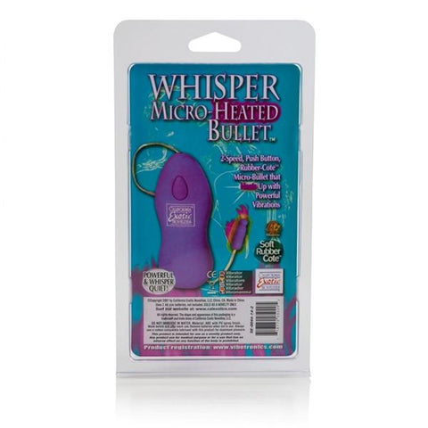 Whisper Micro Heated Bullet Vibrator