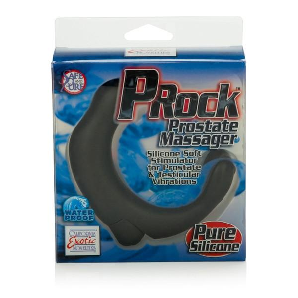 P-ROCK Black Vibrating Prostate Massager