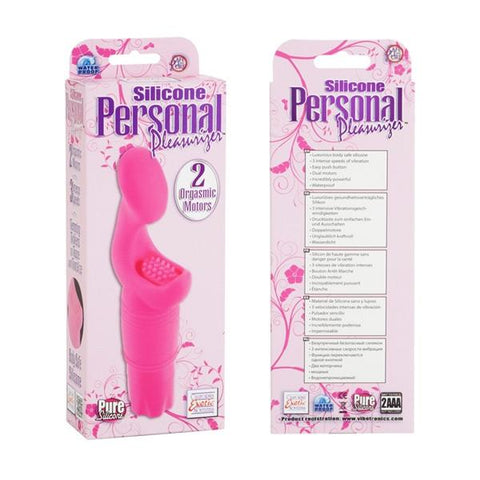 Silicone Personal Pleasurizer Vibe in Purple
