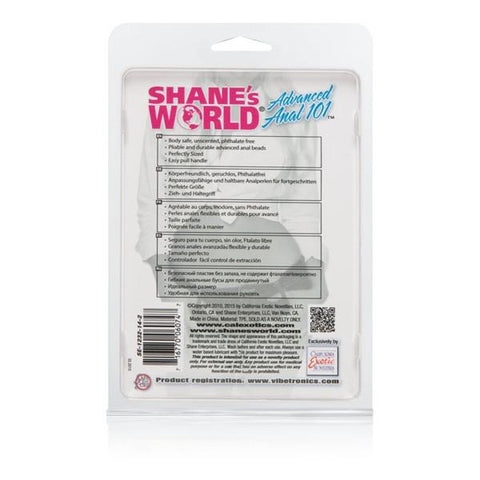 Shane's World Advanced Anal 101 Beads