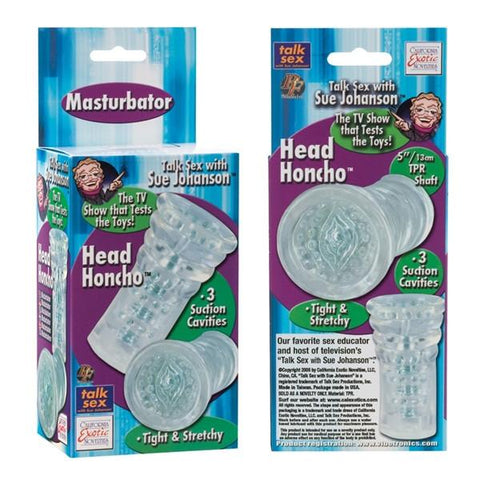 Sue Johanson Head Honcho Stretchy Masturbator