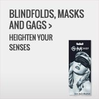 Shop Our Best Blindfolds, Masks & Gags