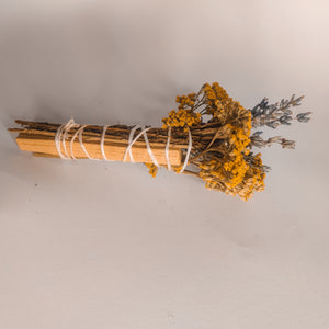 Yellow Flower Smudge bundle
