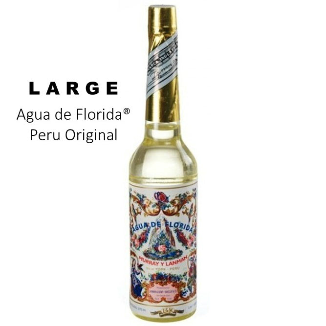 FLORIDA WATER / Agua de FLORIDA 270 ML.