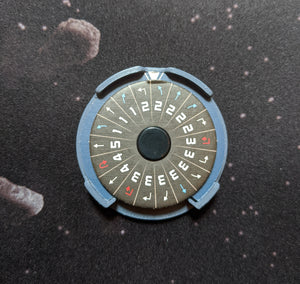 Galactic Empire Ship ID Kit - Dial Cover, Arc Indicators, and Target Locks for Small, Medium, and Large Ships