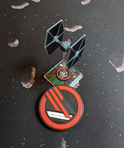 Inferno Squadron Ship ID Kit - Dial Cover, Arc Indicators, and Target Locks for Small, Medium, and Large Ships