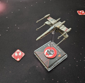 Rebel Alliance/Resistance Ship ID Kit - Dial Cover, Arc Indicators, and Target Locks for Small, Medium, and Large Ships