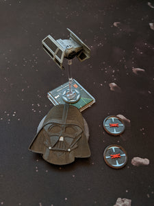 Darth Vader Ship Identification Kit with Targeting Computer Lock Tokens